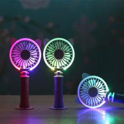 Mini elektrischer modischer abkühlender belasteter LED Ventilator der Brisen-USB