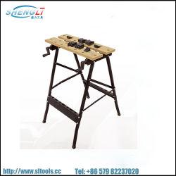 폴딩 작업 벤치 테이블 공구 워크샵 수리 공구 테이블 샵 워크벤치 휴대용 작업 테이블 벤치 클램핑 작업 메이트 작업 탑 150kg 20스퀘어(SL-WB004)