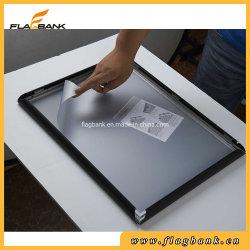 Encaje negro de aluminio en fotogramas cartel independiente al por mayor de la pantalla