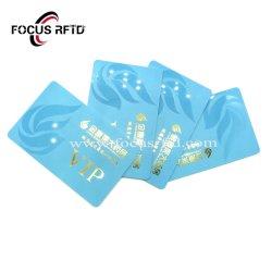 La puce RFID personnalisé carte PVC NXP Classic Smart em4100 Carte plastique NFC
