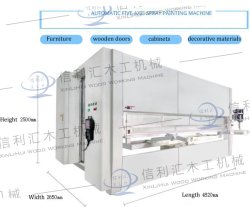 لوحة مباشرة المصنع لوحة متعددة المحطات لوحة الباب لوحة الباب الآلي معدات رسم خمسة محاور الأثاث الطلاء التبادلي