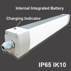 IP65 étanche industriel extérieur d'urgence bandeau de lumière LED Tri-Proof tube