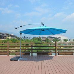 새로운 프리미엄 10는 ' LED 가벼운 옥외 BBQ를 가진 안뜰 우산을 오프셋했다
