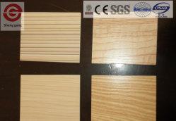 木製の穀物高圧によって薄板にされる耐火性の装飾的なMGOの壁のボード