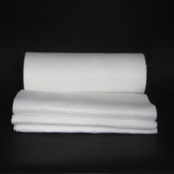 Toalhetes descartáveis de avião Qualidade Premium Spunlace Nonwoven Pano sem toalhas descartáveis