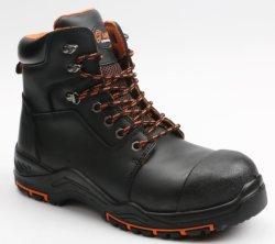 Nubuck Leather veiligheidsschoenen van de beste kwaliteit met stalen teen Cap&Steel Plaat middenzool