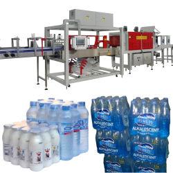 12000bph-24000bph автоматическая минеральная вода напитки сок дневника обвязки упаковки термоусадочную пленку обрамления наматывается машины