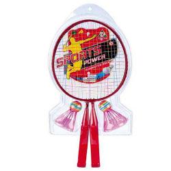 Pour les enfants de Sports de Raquette Badminton jouets0509158 Set (H)