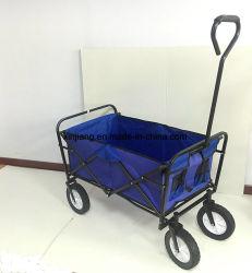 """Strumenti di giardino che piegano il carrello di giardino con il sacchetto del PVC e """" la rotella solida 8"""
