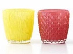 유리에 있는 도매 명확한 유리제 봉헌 촛대 컵/Tealight 홀더