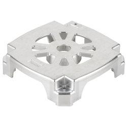 Быстрое прототип глянцевая поверхность Precision алюминия CNC обработки деталей