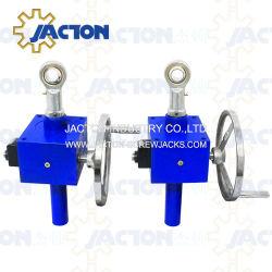 Engrenagem Helicoidal mecânica do mecanismo de elevação do macaco de parafuso manual com o Melhor Preço de tabela do Virabrequim