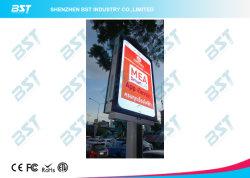 P5 poste de alumbrado público publicidad al aire libre con pantalla LED Smart Phone Design