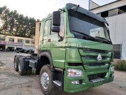 Fornecedor chinês de Venda Directa Euro III 6X4 375Sinotruck HOWO HP usado caminhão trator Mercado para a África