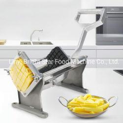 Les frites de coupe commerciale lame réglable de la faucheuse de pommes de terre