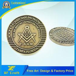 Professional Custom 3D artesanato de metal morrem de Bronze Prêmio Medalha militar da moeda de desafio Loja moedas para oferta promocional (CO16)