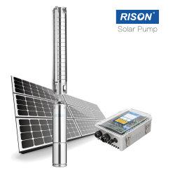 pompa ad acqua solare 1HP, 90m, testa di 120m, acciaio inossidabile della pila solare 900watt
