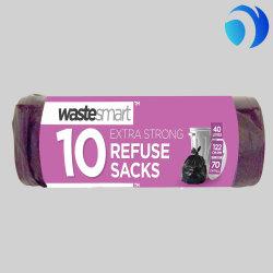 Vente en gros de liner en plastique Refuse soutient le sac à ordures des ordures
