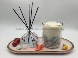 Óleo Essencial de luxo Aroma Difusor Reed Mixin Perfume de Colónia no vidro como conjunto de oferta para a fragrância de quarto