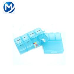 食品等級の携帯用ビタミンの薬のケースマルチコンパートメント/Pillのケースボックス
