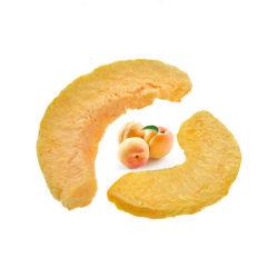Venda por grosso crocante de congelar os frutos secos de Pêssego de frutos desidratados de Vácuo