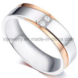Bijoux en acier inoxydable personnalisé Men's anneaux européenne
