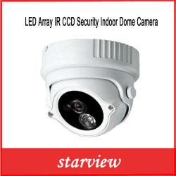 監視LEDのアレイIR CCDの機密保護の屋内ドームCCTVのカメラ(SV60-D1960M)