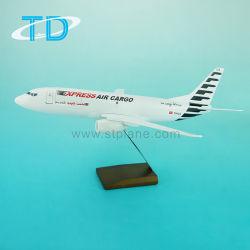Avions cargo B737-300 de résine modèle de jouet