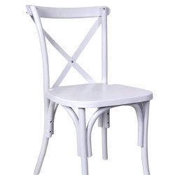 수지 플라스틱 십자가 뒤 Chair/X는 의자 대중음식점 의자를 역행시킨다