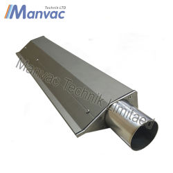 304 SS-40 moyenne du vent réparable couteau d'air en acier inoxydable
