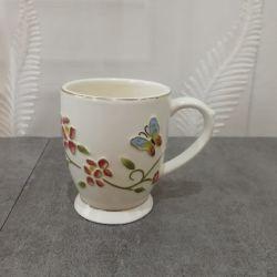 형식에 의하여 주문을 받아서 만들어지는 커피 차 세라믹 사기그릇 사기그릇 찻잔