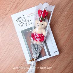 Venda por grosso de pequeno ursinho Bouquet dons do Dia dos Namorados