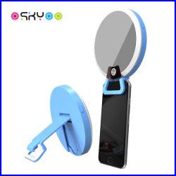 Luz cosmética da suficiência do espelho do flash novo do círculo do anel do diodo emissor de luz Selfie da chegada