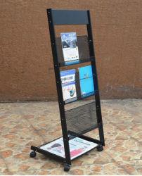 Affichage de fruits de rotation de la grille de fil enduire Magazine Grossiste en vins Cuisine vêtement du caisson de rack