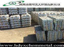 99,99% de lingots de zinc haute qualité et de lingots en alliage de zinc