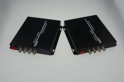 4CH Ahd/ Hdcvi Hdtvi /video converter convertisseur de vidéo sur la fibre optique 2MP 1080P