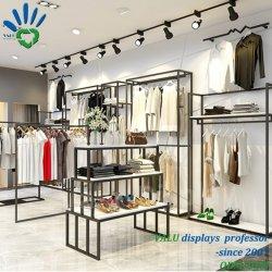 Più popolare fatto in vestiti della Cina che appendono la visualizzazione vestiti/del basamento/cremagliera del negozio