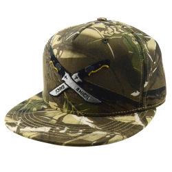 Custom Militar de camuflagem Boné Chapéu Plana Fashion Bordados Imprimir Snapback Hat