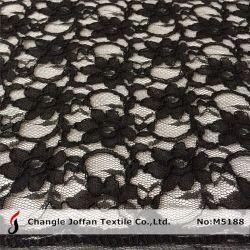 Cabo de marfim tecido Lace para roupa (M5188)