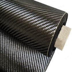 Горячая продажа хорошее качество 3K 200 г обычной/Саржа соткать ткань Prepreg из углеродного волокна ткани из углеродного волокна