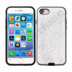 Diamond Téléphone hybride de conception de grain TPU Étui pour iPhone 6