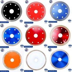 4,5 Zoll Zero Chipping China Factory X Turbo/Mesh Turbo Diamond Werkzeuge /Diamantsägeblatt/Diamantscheibe/ Keramikschneider für Fliesen/Porzellan