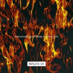reticolo rosso della fiamma di larghezza di 1m, Hydrographics, stampa di trasferimento dell'acqua, pellicole per i punti esterni e pistole (BDS233-1A)