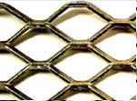 Yaqi élargi panneau métallique hexagonal en cuivre