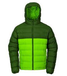 방수 지퍼가 있는 채워지는 남성용 겨울 다운 재킷