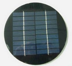 Painel Solar redonda para luz de grama Solar