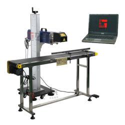 명판, 청바지, 가구 산업 레이저 마킹 기계 CMT-10