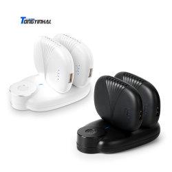 Heiße verkaufenprodukteqi-drahtlose Handy-Aufladeeinheits-Station mit Absaugung-Cup-Energien-Bank 8000mAh