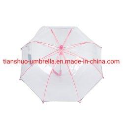 PVC Apollo اليدوية فتح شريحة مستقيمة مظلة الأطفال المظلة J مقبض الوزن الخفيف
