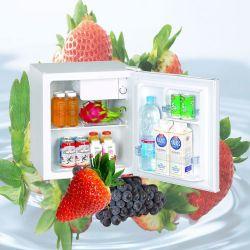 Porta sólida vertical Mini frigorífico de férias do Compressor